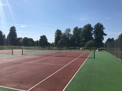 Rouken Glen tennis courts