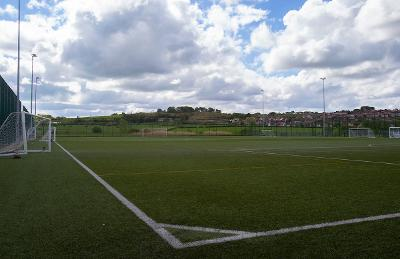 Barrhead High synthetic sports pitch