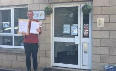 Letter delivery to care home
