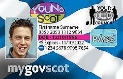 An image relating to Young Person's National Entitlement Card