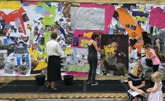 An image relating to Care experienced youngsters present insightful art exhibition