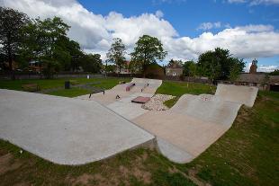 Skate park, Cowan Park