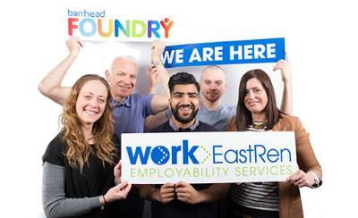 Work EastRen team